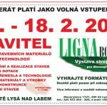 16. – 18. 2. • STAVITEL – Ligna Bohemia 2017 – Výstaviště Lysá nad Labem – S ČRVA VSTUP ZDARMA