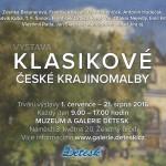 do 21. 8. • Klasikové české krajinomalby – výstava Galerie Detesk Železný Brod