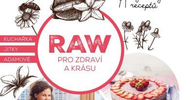ČERVENCOVÁ křížovka o knihu RAW PRO ZDRAVÍ A KRÁSU od nakladatelství SmartPress